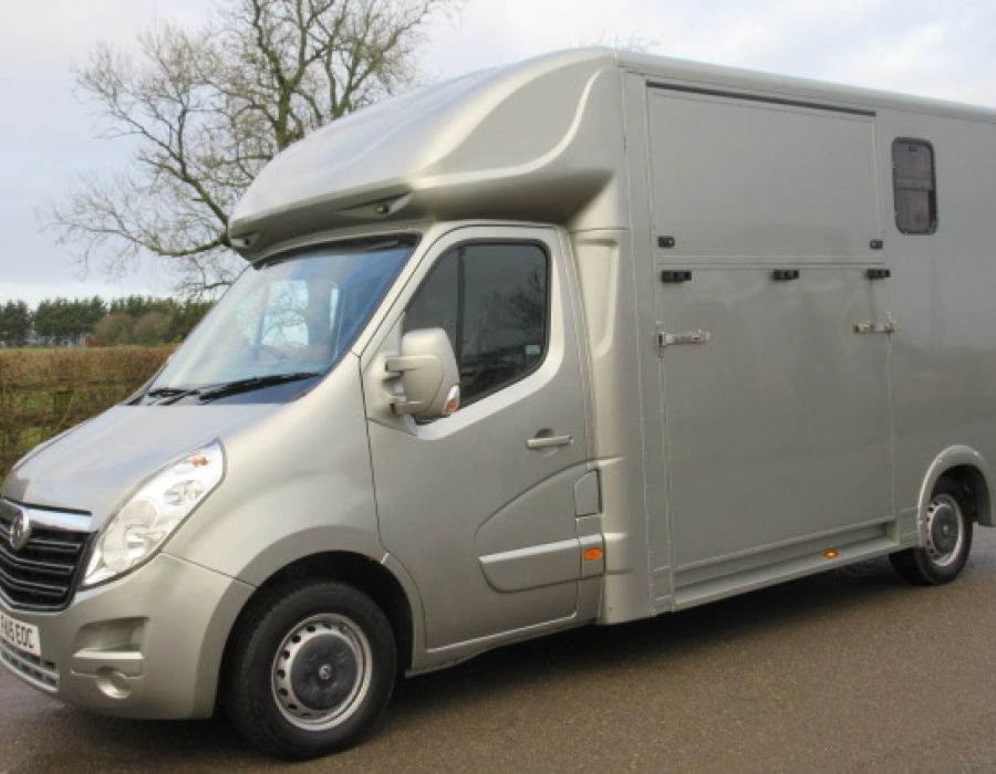 Ref 413 2015 Vauxhall Movano 3.5 ton Coach built by J.P Coach builders. New Build £21,895