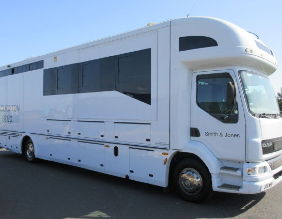 Ref 430 2006 14 Ton DAF LF Coach built by Whittaker. Only 26,251 Miles from new! £92,850