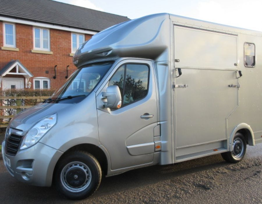 Ref 426 2015 Model 64 Vauxhall Movano 3.5 ton Coach built by J.P Coach builders £19,995