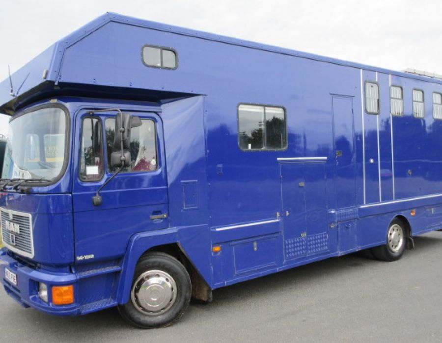 Ref 408 14 Ton MAN Coach built by Solitaire £17895