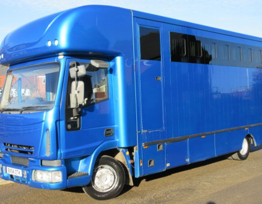 2005 Model 54 10 Ton Iveco Eurocargo Coach built by Emsley-Metcalfe coach builders. £21,950